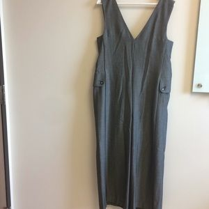 Cartonnier Anthropology Gray jumpsuit size small